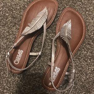 Shoes - Silver Sandles